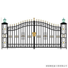 Hot Sale Wrought Iron Gate Factory Dircet