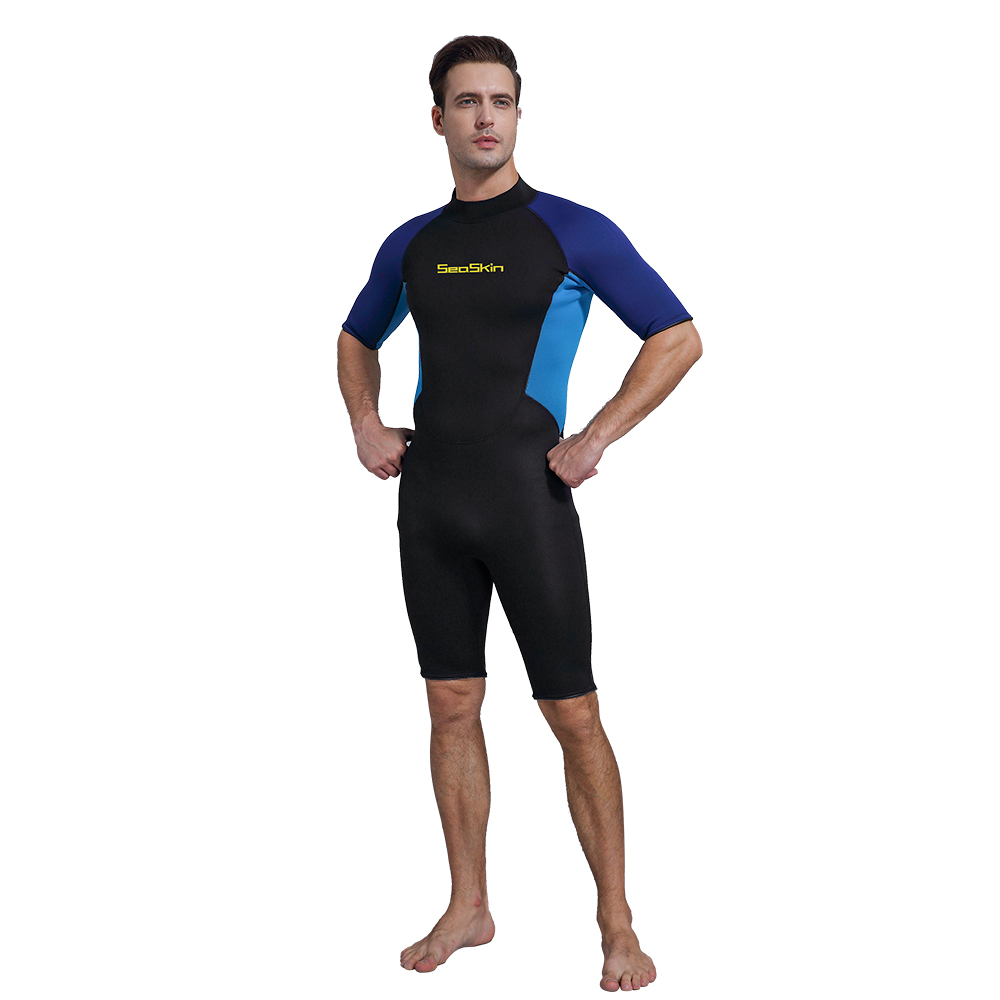 Seaskin Shorty Back Zip Wetsuit For Scuba Diving China ...