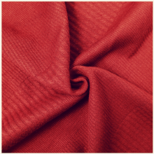 Wine Red Breathable Dobby Knitted Polyester Jacquard Fabrics