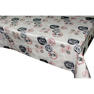 Elegant Tablecloth with Non woven backing Square