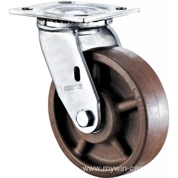 4'' Heavy Duty Plate Swivel High Temperature Caster