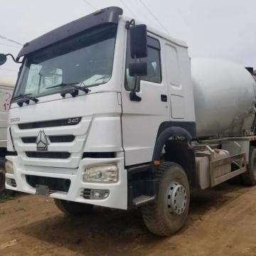 Refurbished Howo 12m3 Concrete Mixer Truck