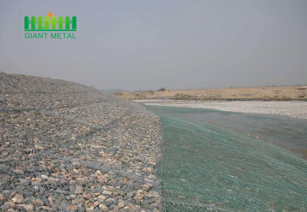 Hexagonal Galvanized/PVC/Zinc-Al gabion box
