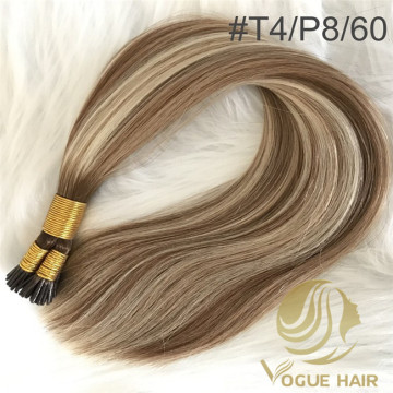 Large stock for I tip hair extensions