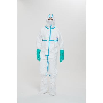 Disposable Medical Virus Protective Coverall Clothing