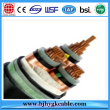 Middle voltage power cable armored power cable