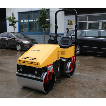 Professional mini compactor vibrating road roller in stock FYL-890