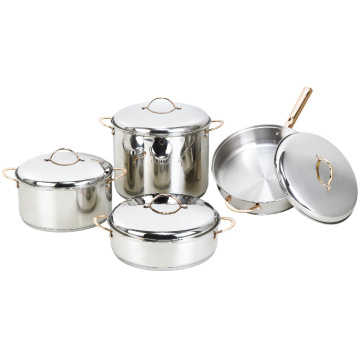 Stainless Steel Cookware Set 8 Pieces