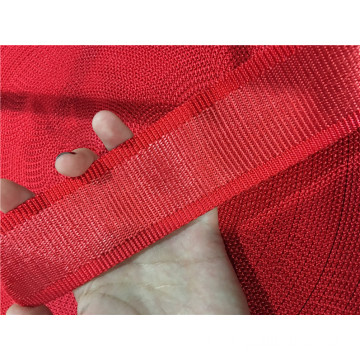 Disposable white flat webbing sling for lifing