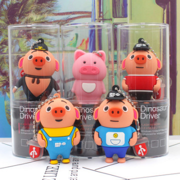 Cartoon Pig Usb Flash Drive  Pen Drive