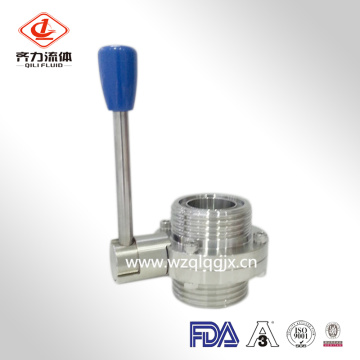 Sanitary Thread Butterfly Valve