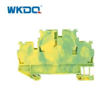 Double Layer Grounding Terminal Blocks