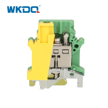 DIN Rail Ground Terminal Block