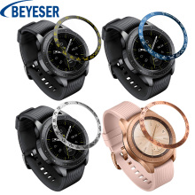 Styling Sporting Smart Watch Band Protective Accessories Replacement for Samsung Galaxy Watch 42mm New Metal Circle Bezel Ring