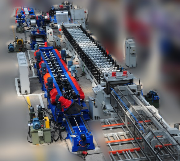 Floor Deck Panel Roll Forming Making Machine