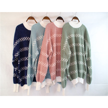 Wholesale Women's Long-sleeved Knitted Bottoming Shirt