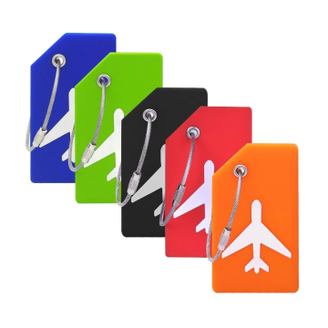 Popular Silicone Luggage Tag