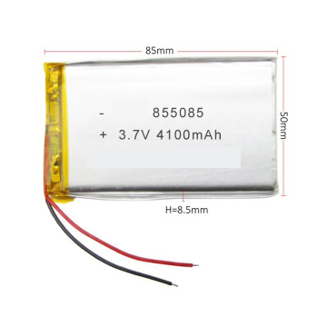 Customized Rechargeable 4100Mah 3.7V Li-Polymer Battery