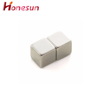 Small Size Cube Neodymium Magnet