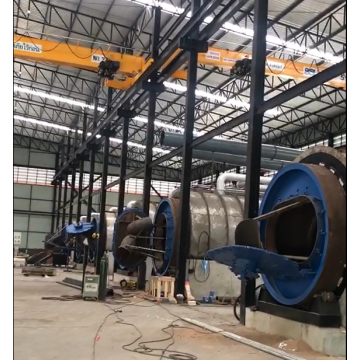 Waste Tyre to Fuel Oil Pyrolysis Machinery