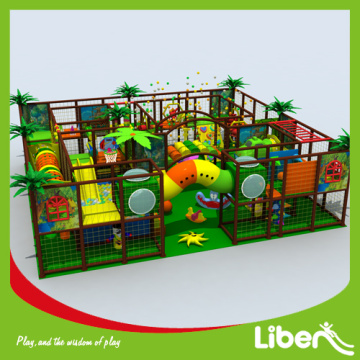 Hot selling plastic indoor playground equipment