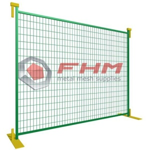 Temporary Fence for Canada for Construction
