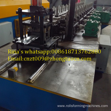 perforated steel shutter machine roll forming machine
