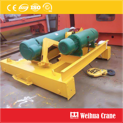 EOT Crane with Electric Hoists Crab
