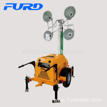 High Mast Small Mobile Construction Light Tower with Famous Engine (FZMT-S1000)