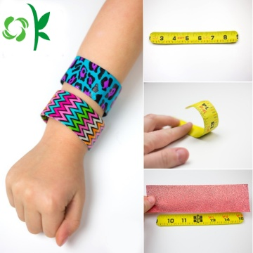 Professional Rules Silicone Slap Snap Bracelet for Kids