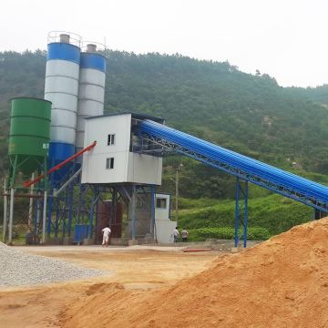 Concrete batching plant project report mixing stations