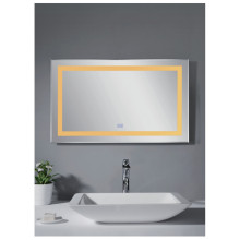 Rectangular LED bathroom mirror MC16
