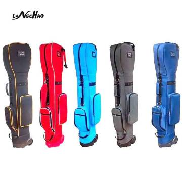 OEM/ODM Waterproof Custom Logo Golf Bag Nylon Lightweight Golf Bag With Wheels for Outdoor Activity