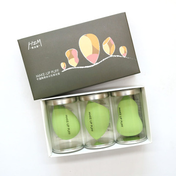 3Pcs Makeup Sponge Beauty Blender Puff
