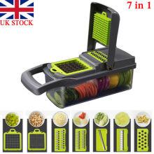 Newest Fashion 7 In1 Food Vegetable Salad Fruit Peeler Cutter Slicer Dicer Chopper Multifunction Kitchen Tool