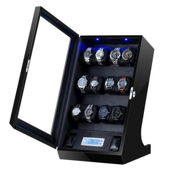 12 rotors watch winder with storages
