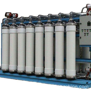 UF water treatment system for mineral water