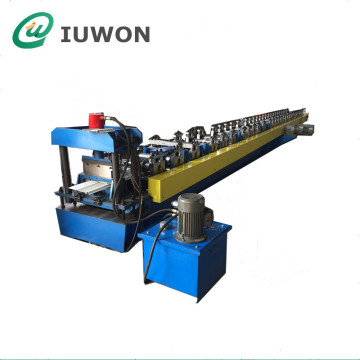 Metal Gutter Cover Roll Forming Machine