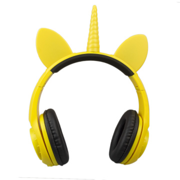 Cartoon earphones headphone logo best foldable headphones
