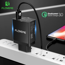 FLOVEME USB Charger 5V3A Quick Charge 3.0 Mobile Phone Charger For iPhone Fast Charger Adapter For Huawei Samsung Galaxy S9+ S8+