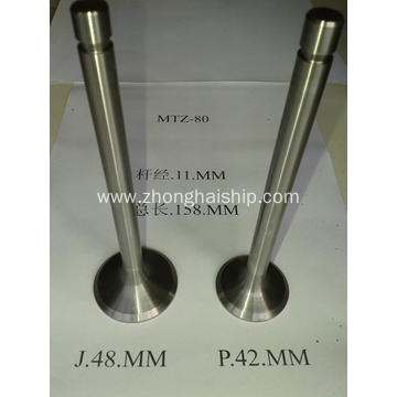 Russia Construction Machinery Engine Valve for MTZ-80