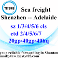 Shenzhen Shipping Agent Logistics Transport Service to Adelaide