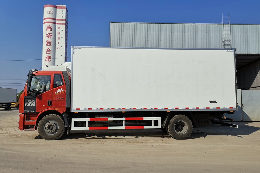 18 ton refrigerated truck 2