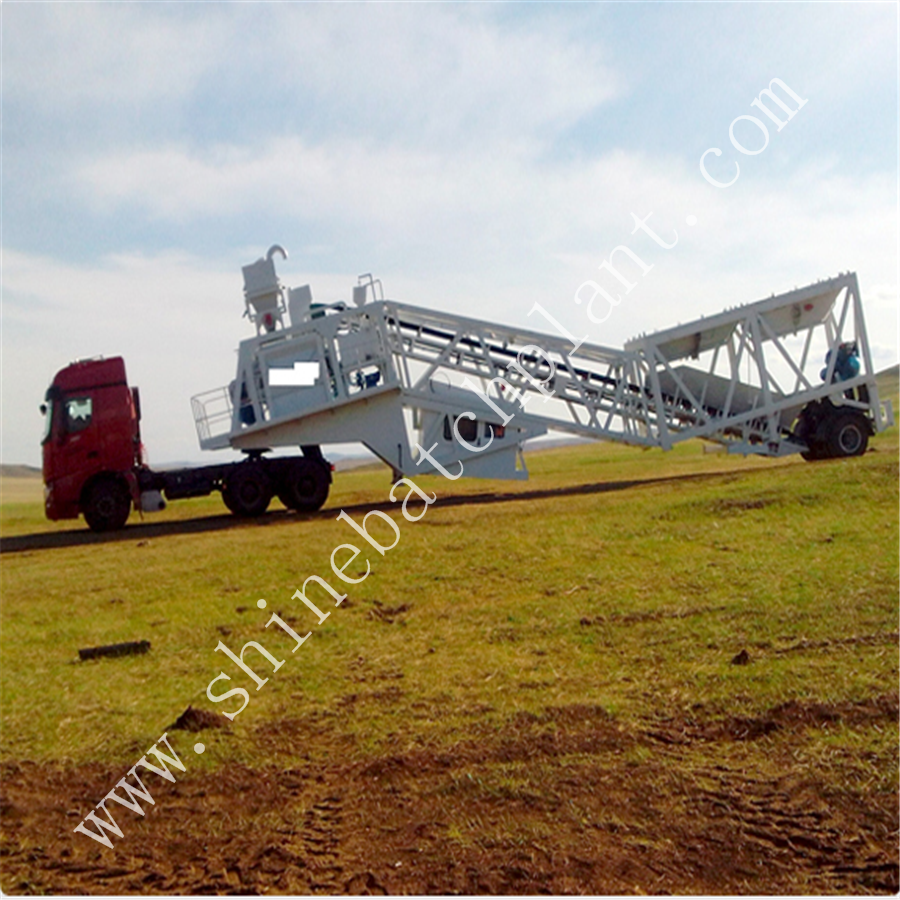 Mobile Batch Plant 75 3