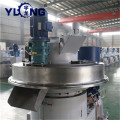 Yulong ring die pellet machine wood design