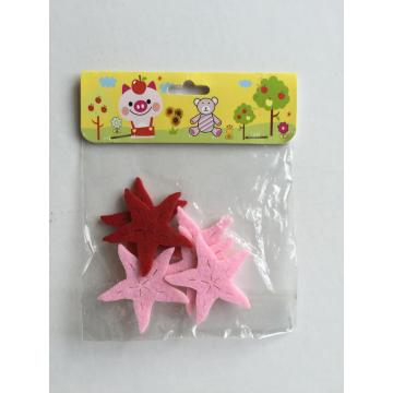 star shape felt craft