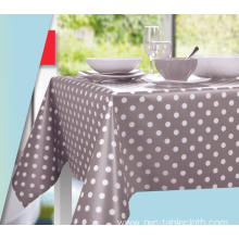 Elegant Tablecloth with Non woven backing Outdoor