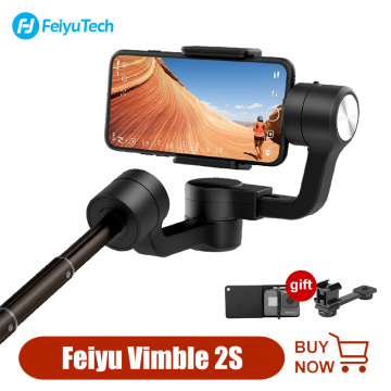 FeiyuTech Vimble 2s 3-Axis Handheld Gimbal Stabilizer extensionable Smartphone Gimbal for selfie Video Vlog for iPhone Android