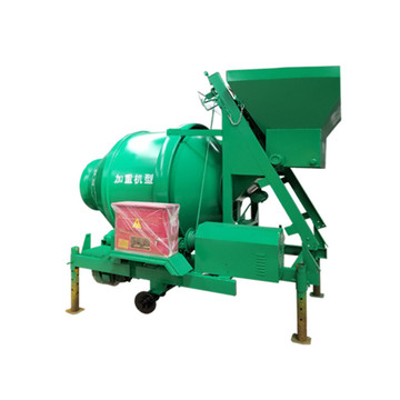Low price portable electric automatic feeding drum mixer