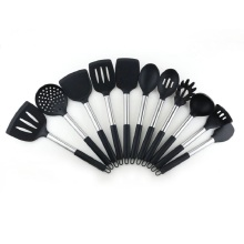 Black Professional BPA Free Cooking Utensils